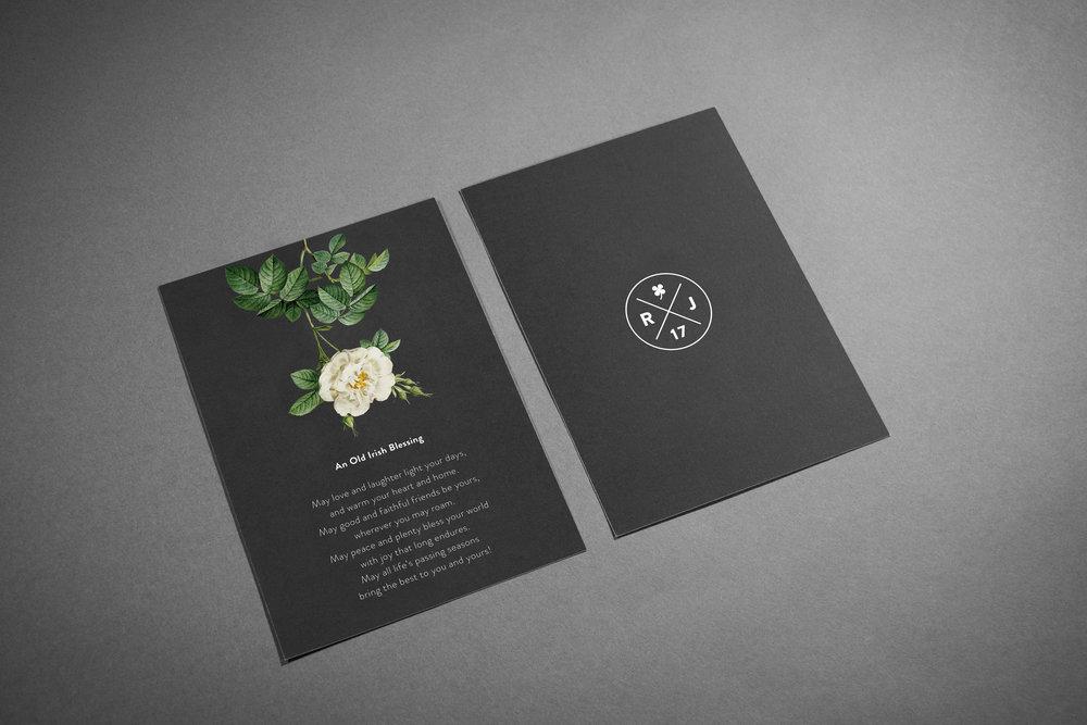 Custom Wedding Suite (Irish blessing, verse) by Maystorm Studio