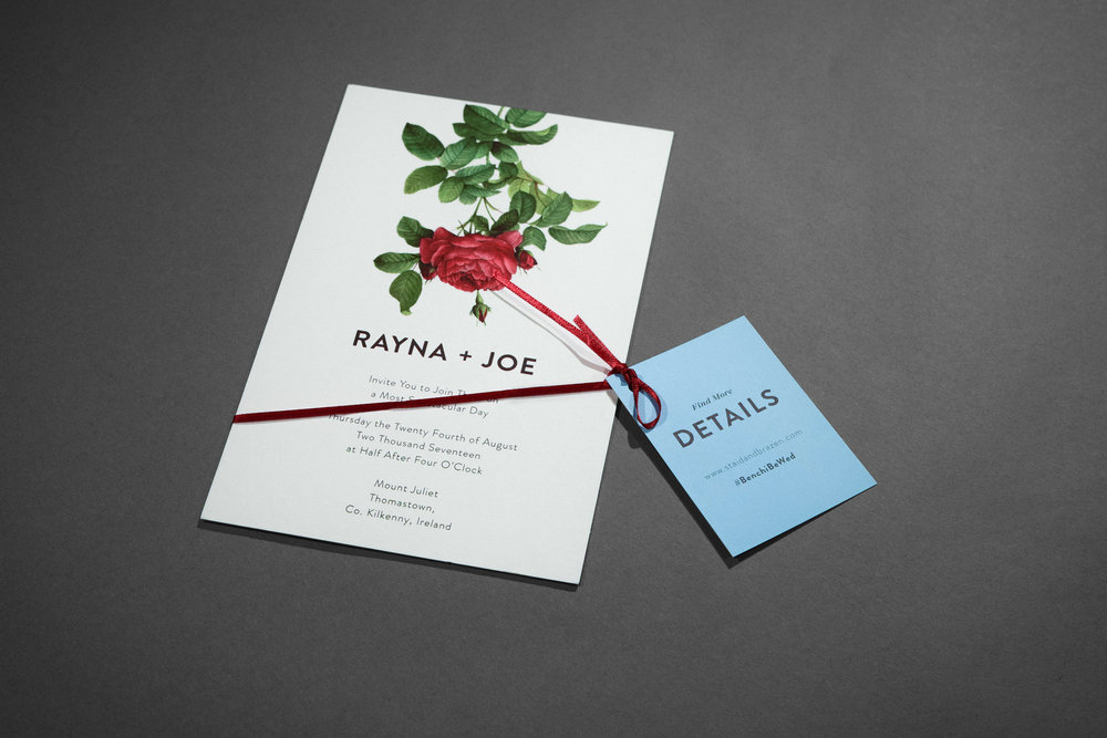Custom Wedding Suite (Inviation & details card) by Maystorm Studio