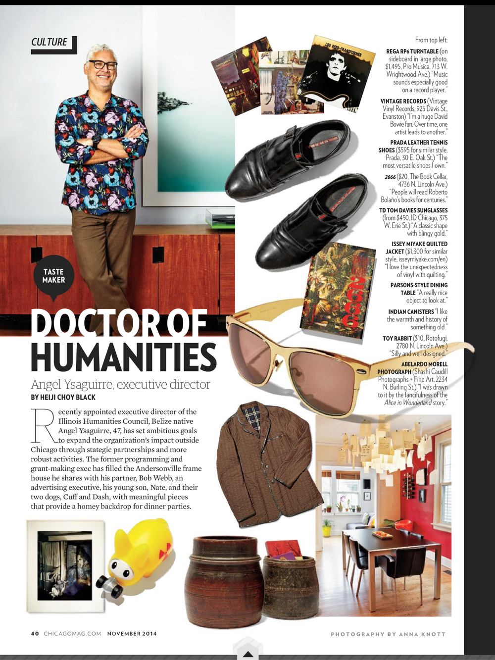 'Doctor of Humanities' article.