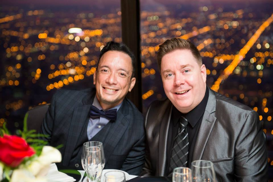 iD Chicago founders Anthony Almaguer (left) and Steven Burgert (right).