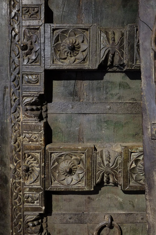 Hand Carved Moroccan Doors - ID Chicago-Hand Carved Moroccan Doors