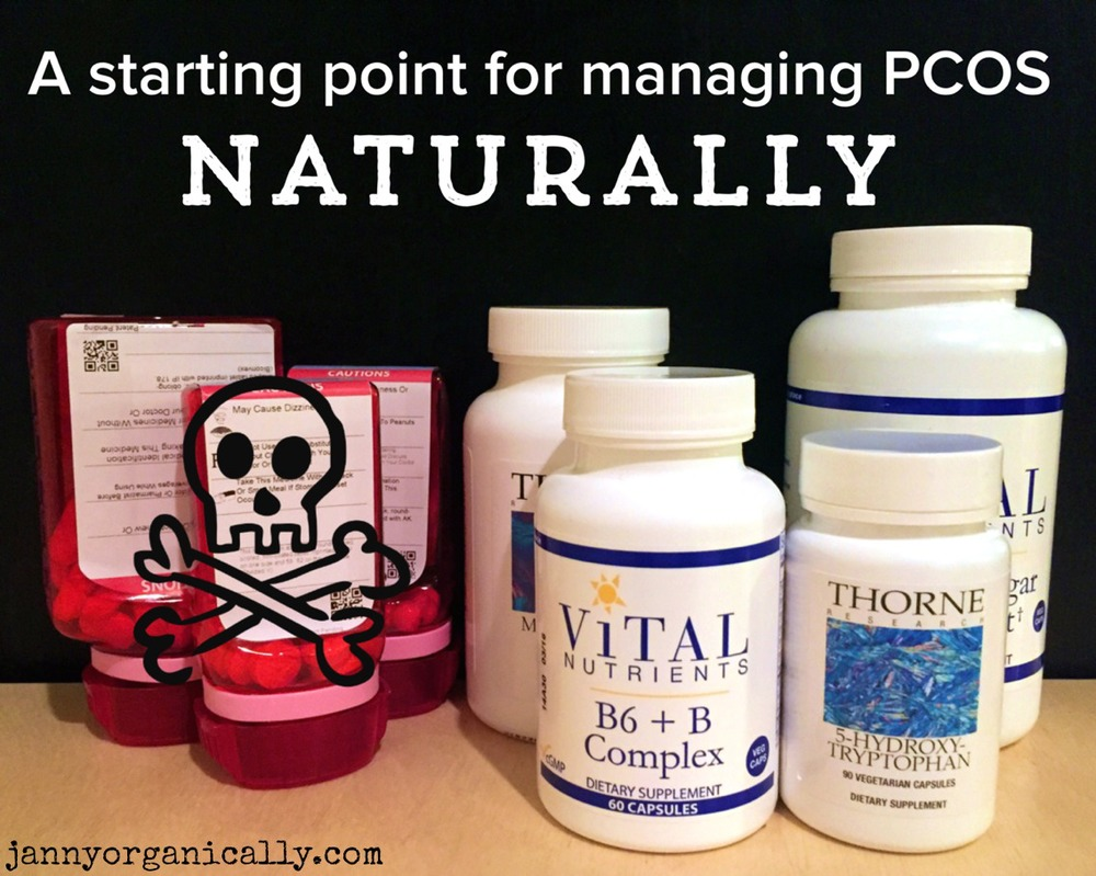 A starting point for treating PCOS naturally, and Why Having #PCOS Makes Me More Compassionate — janny: organically.