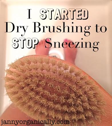 I Started Skin Brushing to Stop Sneezing. How I figured out an allergy relation with this popular health regimen. — janny: organically.