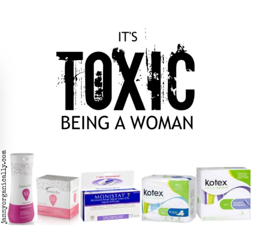 It's Toxic Being a Woman:  The average woman in the United States will use upwards of about 11,000 tampons in her lifetime, the majority of which, are made of conventional cotton treated with insecticides and pesticides. So why is this a concern? Let's break it down and look at the alternatives.  janny:organically.
