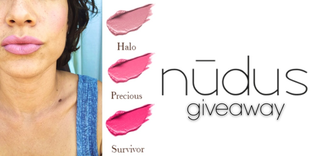 nūdus lip euphoria + GIVEAWAY!  on janny: organically. #nudus #organicbeauty