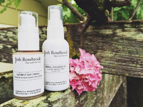 Product Launch: Josh Rosebrook Herbal Infusion Oil & Tinted Day Cream! - janny: organically. #joshrosebrook #tintedmoisturizer #spf