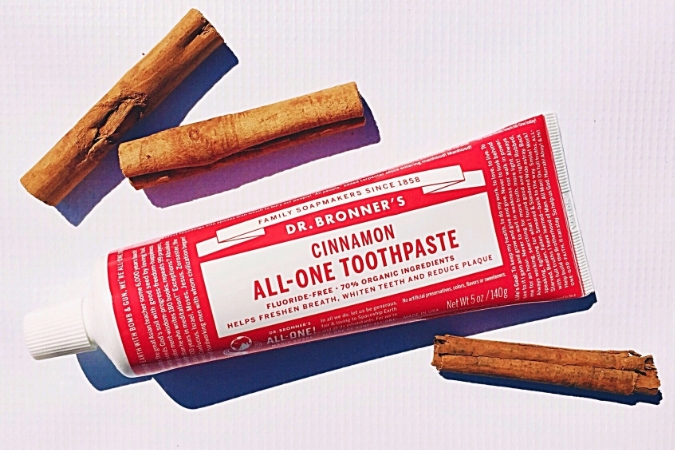 New Product Review Dr Bronner S Fluoride Free Toothpaste