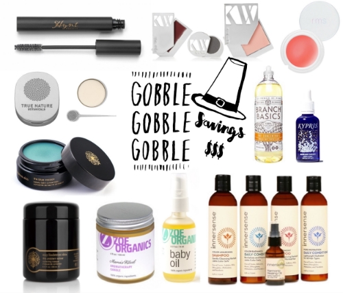 Green Beauty Black Friday and Cyber Monday Deals - janny: organically.