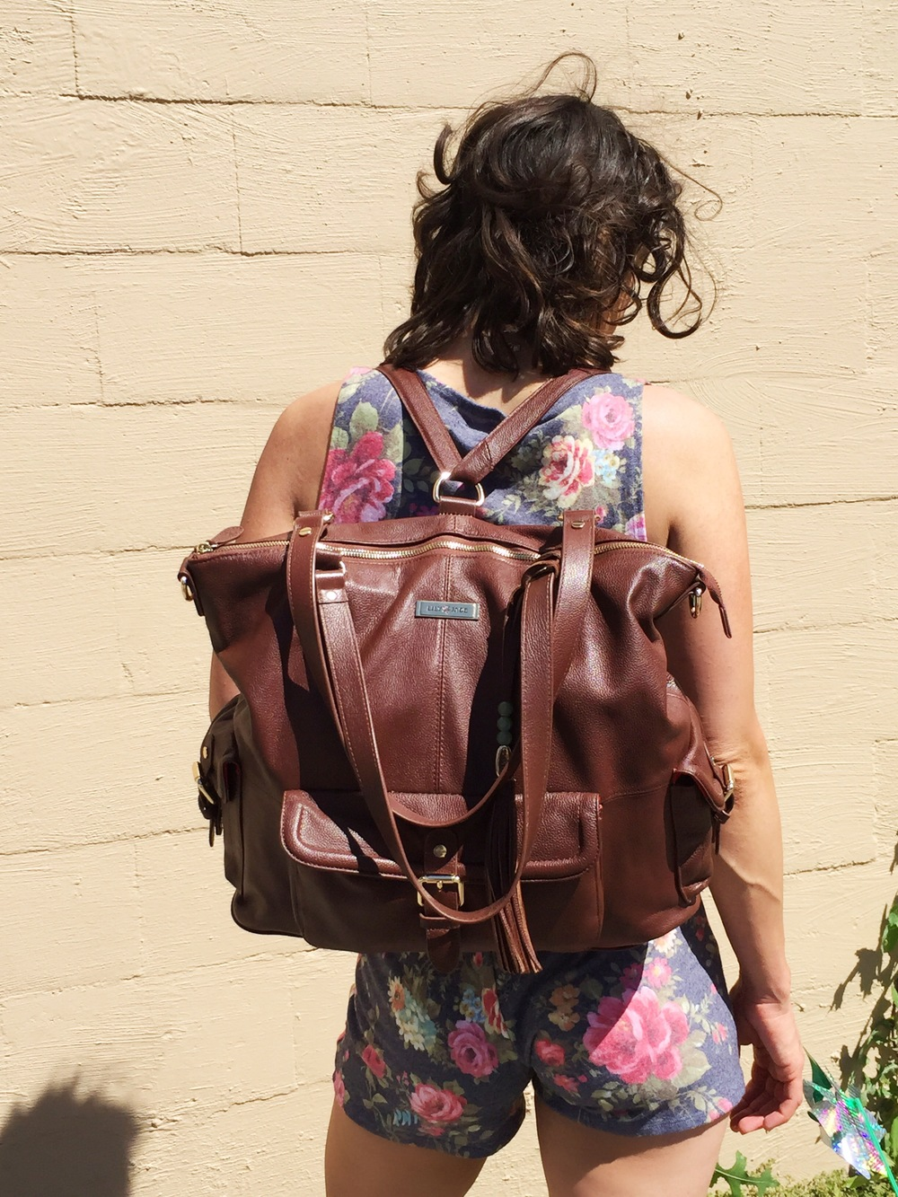 Lily Jade Meggan in Brandy - janny: organically. #diaperbags
