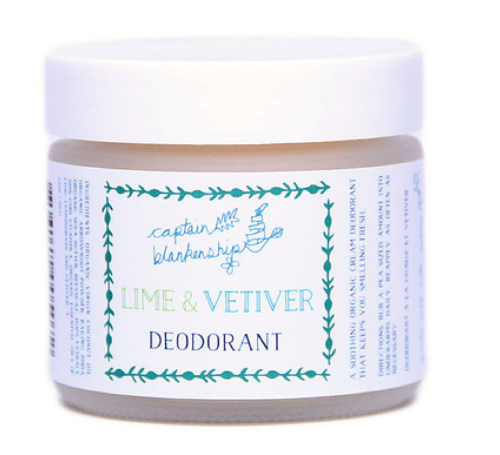 The Clean Beauty Deodorant Guide: Captain Blankenship - janny: organically.