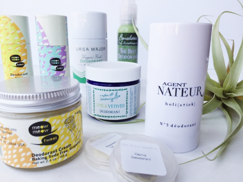 The Clean Beauty Deodorant Guide - janny: organically.