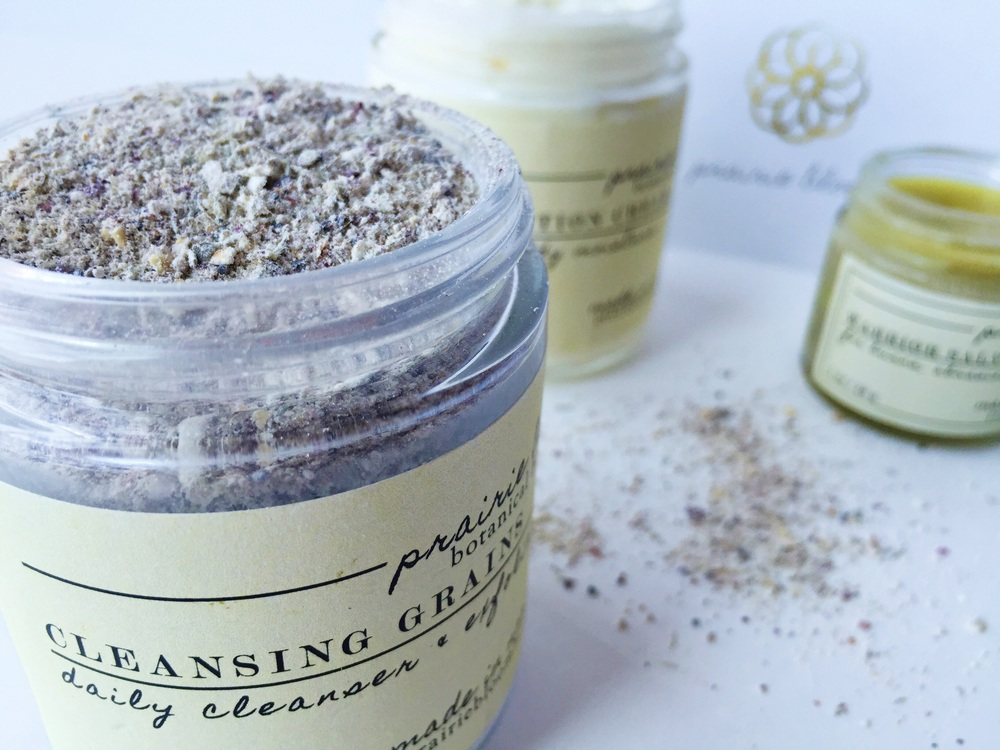 Prairie Bloom Body Care - Cleansing Grains | janny: organically.