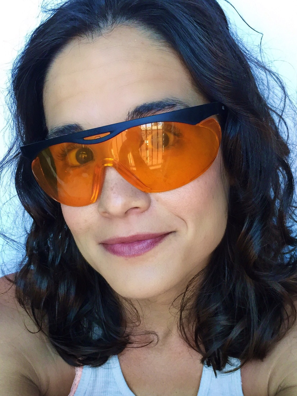 Amber Glasses - Block Blue Light at Night & Protect Melatonin production | janny: organically.