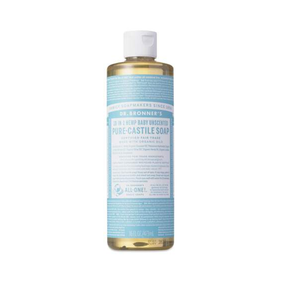 A big fan of Dr. Bronner's castile soap and other hand crafted goodies - 16 or 32 oz available in several scents $6.45/$10.45