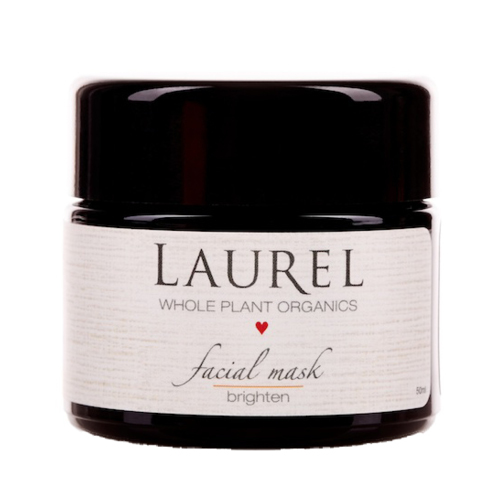 Winning Attributes: Smoother and more even skin tone, decreased visibility of sun and dark spots, boost in skin tone and elasticity.    This mask is designed for mature, sun damaged, or scarred skin. The formulation works to restore skin while firming and brightening. It features organic and sustainably farmed Camu Camu, Acerola Berry, and Rosehip Fruit – all for their high amounts of vitamins A, C, and E. The repairing properties of Vitamin C have been proven to treat sun damage, reduce hyperpigmentation over time and restore collagen and firmness. Other key whole plants in this mask are Calendula, Gotu Kola, and Comfrey for their own anti-aging abilities. Essential oils of Frankincense, Carrot Seed, Cistus, Sweet Orange, and Lemon round out the formula bringing brightness and elasticity to the skin.    Beauty Heroes  $51 Members, $60 non-Members   The Detox Market  or  Integrity Botanicals  $60