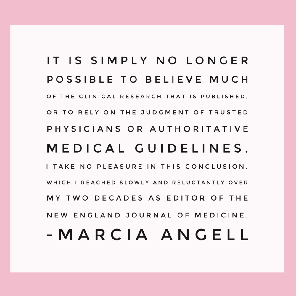 Can we trust clinical research? | janny: organically.
