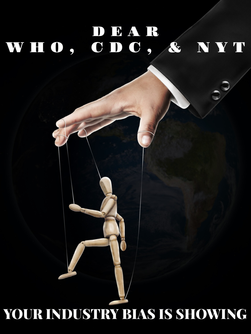 Dear WHO, CDC & NYT: Your industry bias is showing | janny: organically.