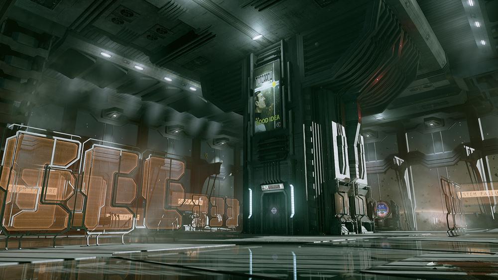 Dead Space UE4 - Atrium1