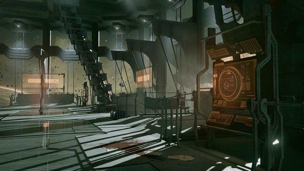 Dead Space UE4 - Atrium2