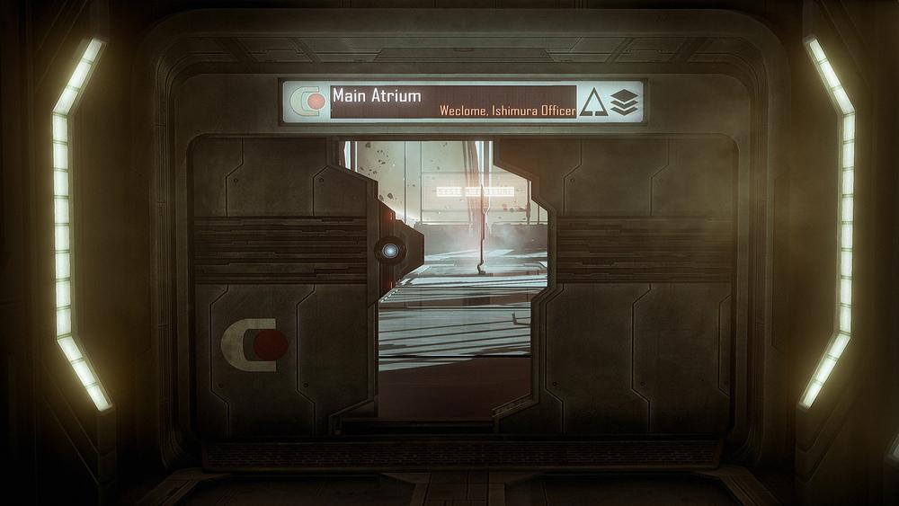 Dead Space UE4 - Hallway2