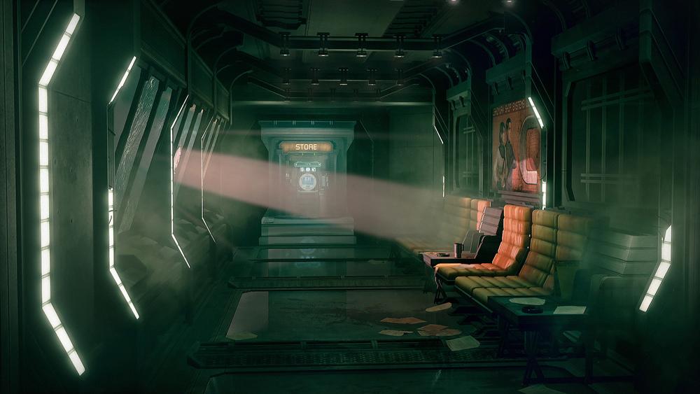 Dead Space UE4 - Hallway1