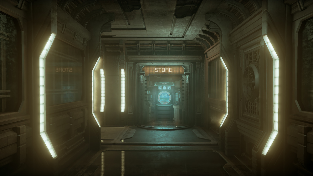 Dead Space UE4 - Hallway4