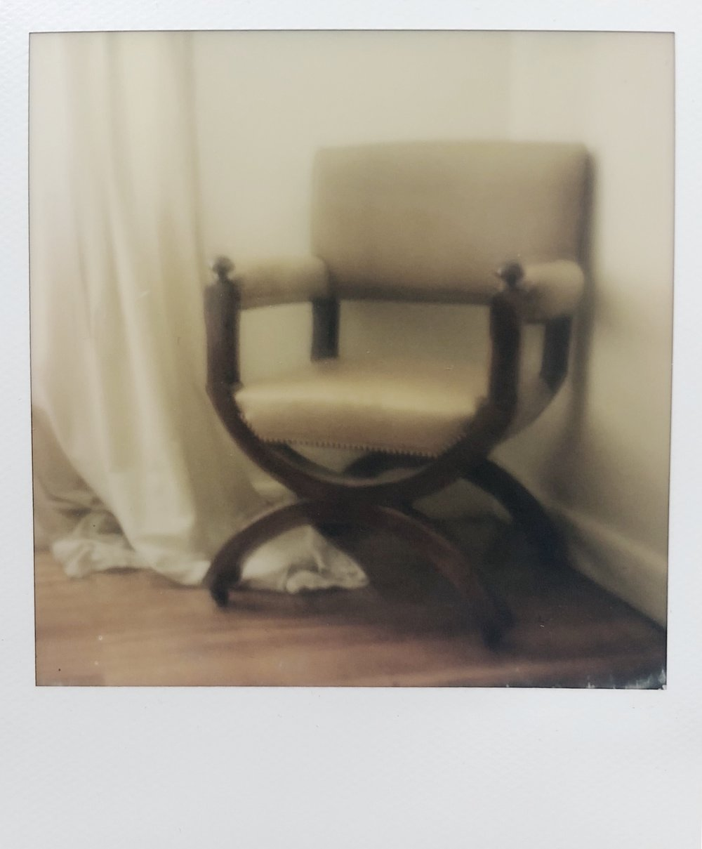 Polaroid,  Great-Grandfather's Chair