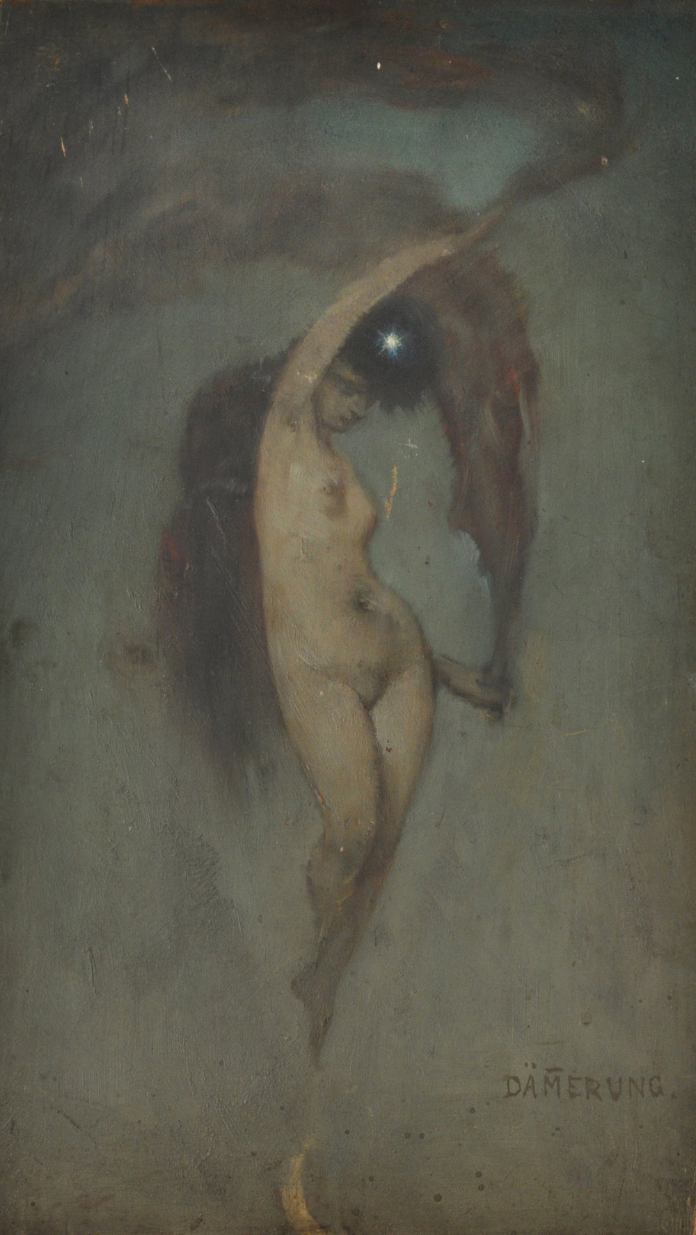 L. Bernard Hall,  Study for Twilight  c.1895–1910
