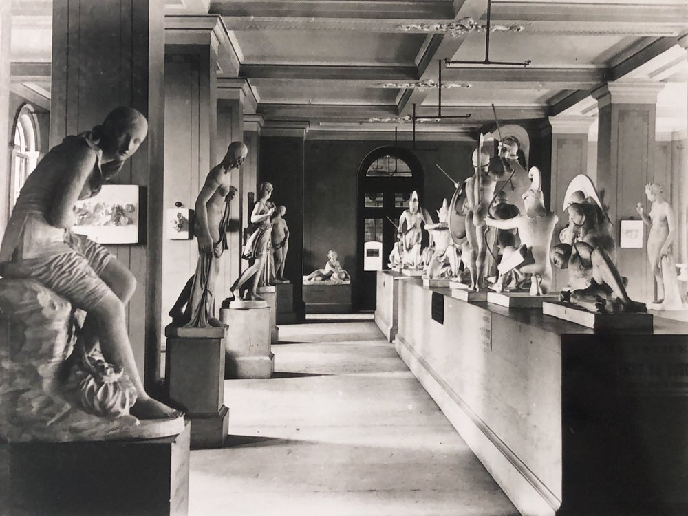 Sculpture Gallery,  National Gallery of Victoria c.1915