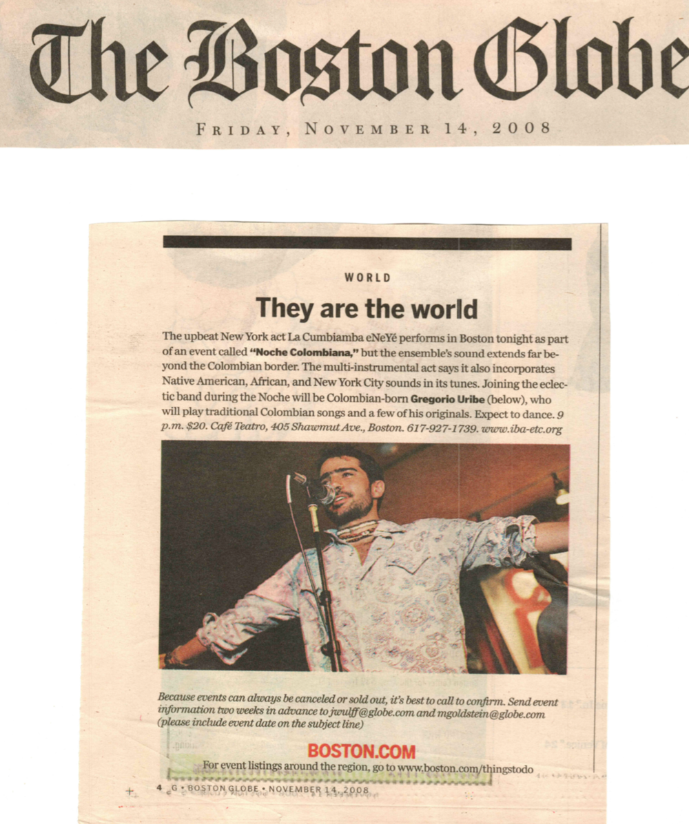 The Boston Globe - Colombian Night