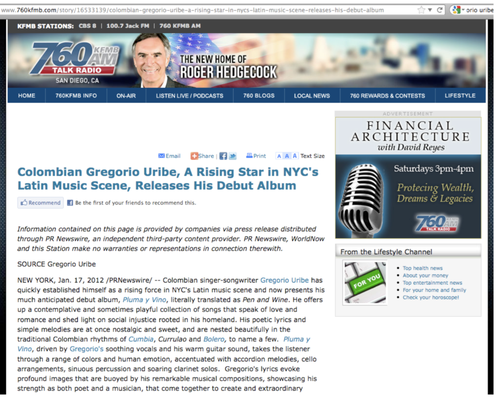 Talk Radio - San Diego, CA