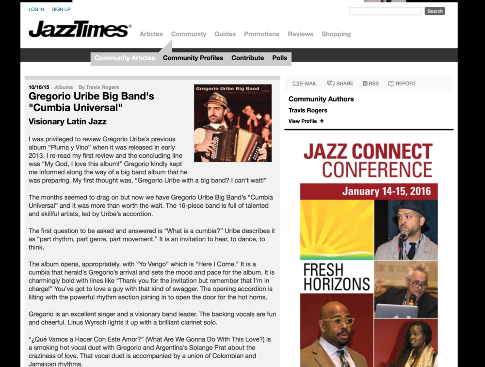 JazzTimes - Review
