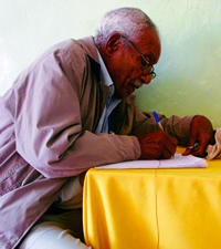 Artist Alle Fellegeselam (photo from What'soutaddis.com)