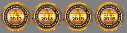 Presidents Club Award: 2013-2106