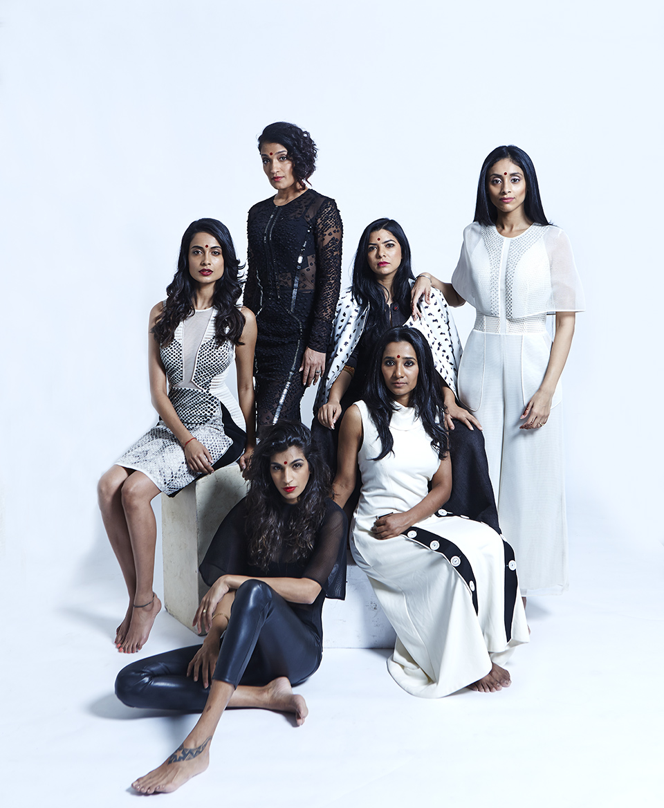 The cast of Angry Indian Goddesses