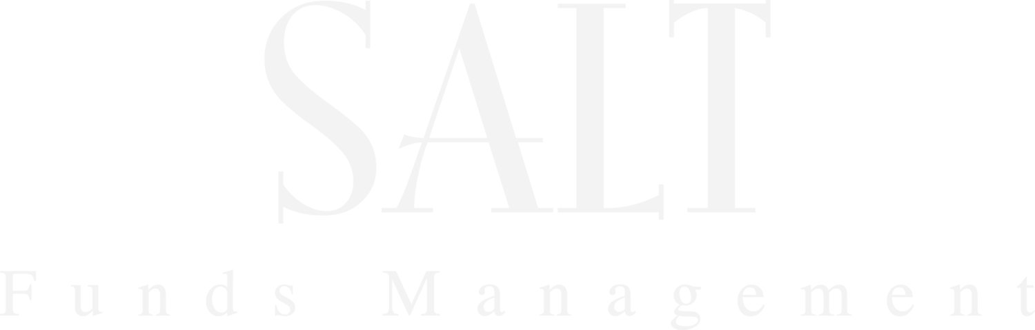 SALT FUNDS MANAGEMENT