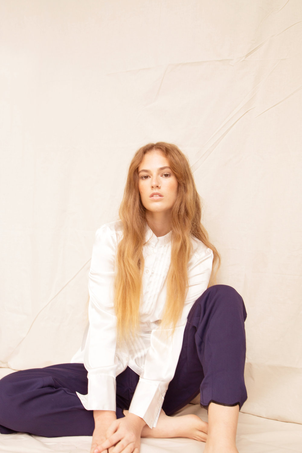 Grace Litton from Five Twenty Management  Makeup: Alex Grbas  Hair: Camilla Leary