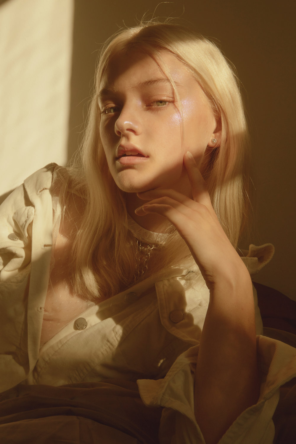 Lexi from IMG Models Sydney  Wardrobe // Elle Hioe  Makeup // Lulu Brearley