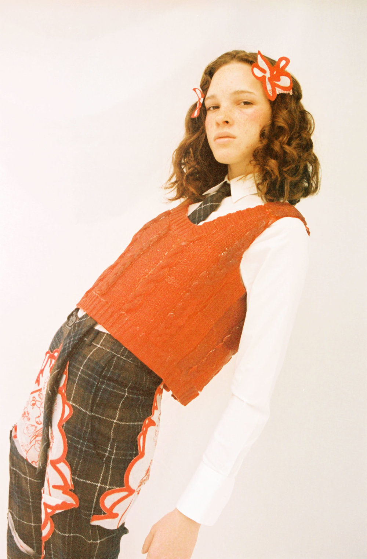 Flora - Elite London  Leeann Huang - Wardrobe Designer