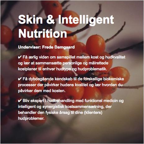 hud ernæringsterapeut københavn online distance læring learning