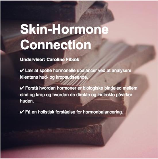 hormoners påvirkning af huden