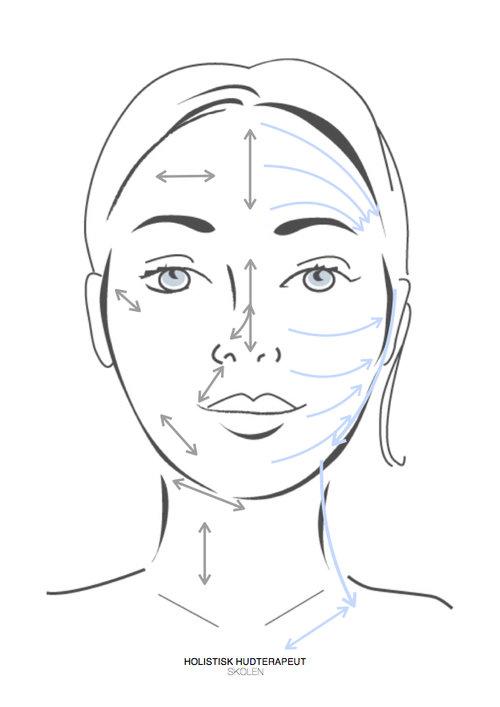 glow facial skin roller bjergkrystal hvid jaderulle
