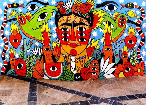 Murals ricardo cavolo for Mural art images