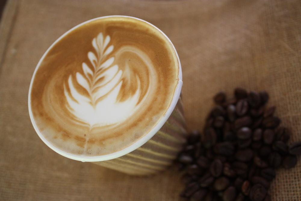 A Mocha Man coffee
