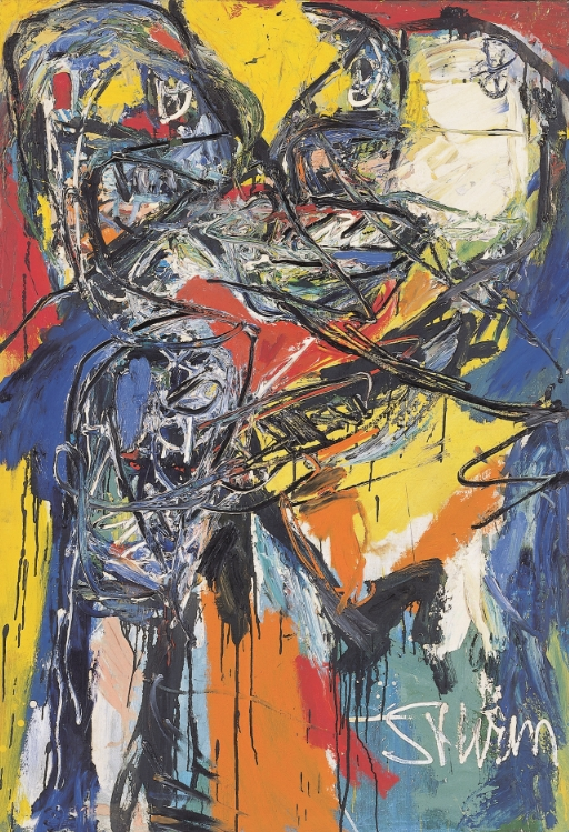 Untitled, 1961 Oil on canvas 138 x 96 cm
