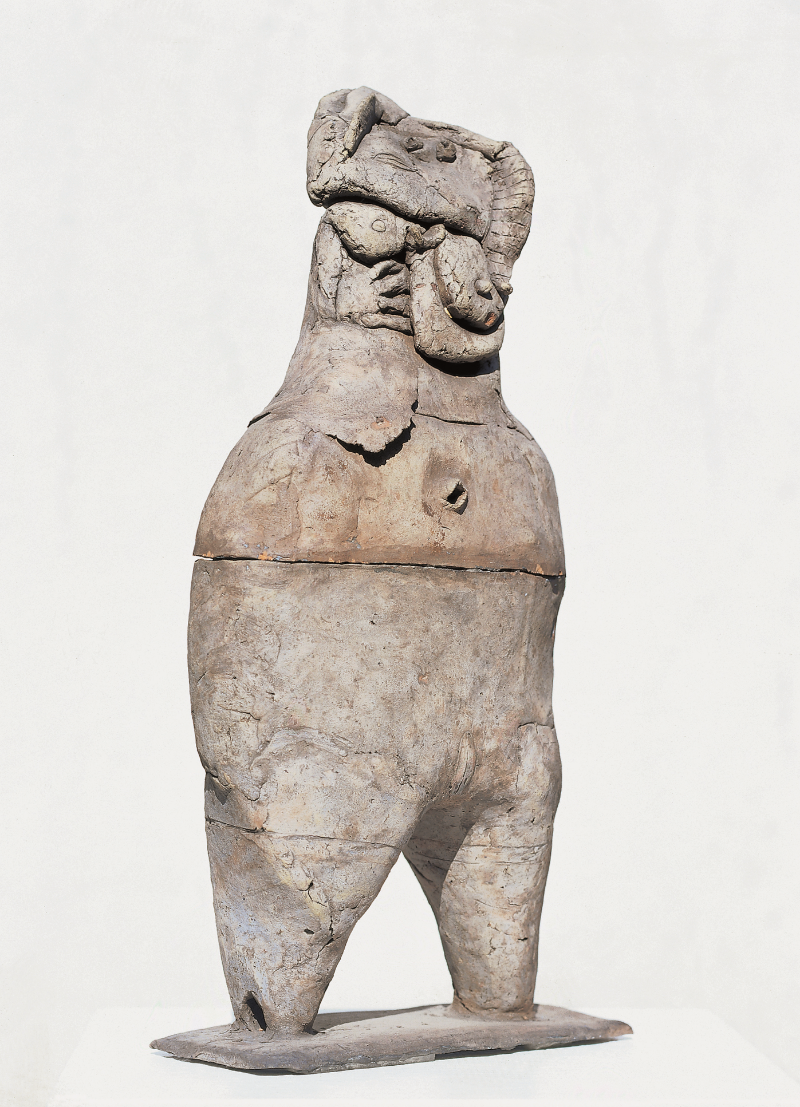 Lea, 1962 Burned clay 60 x 27 x 12