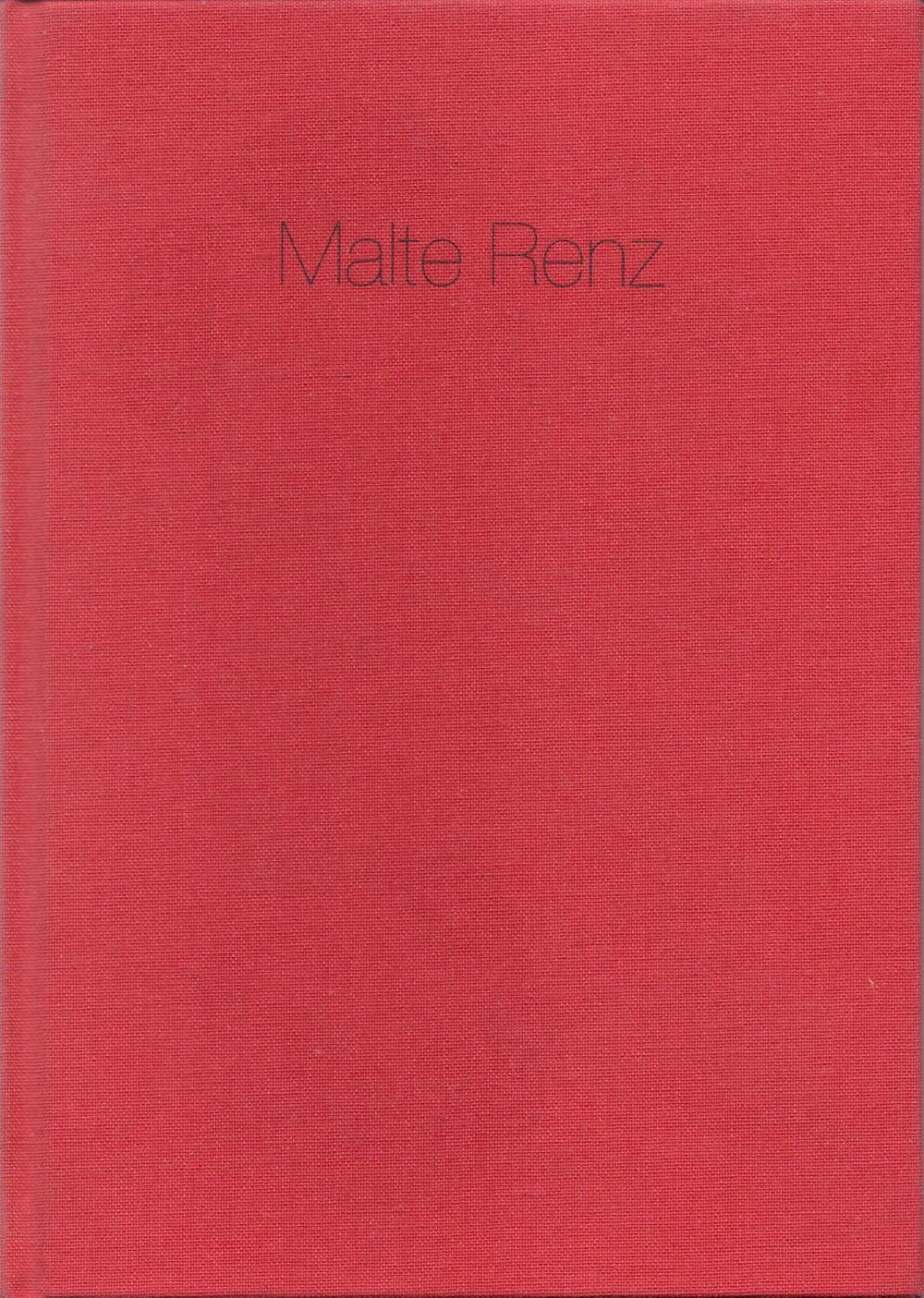 Malte Renz, Malerei und Lithographie , 2004