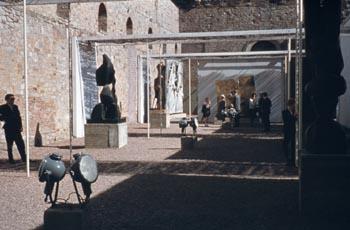Ansicht Skulpturenpark Orangerie Foto: Dr. H.-K. Boehlke ©documenta Archiv.