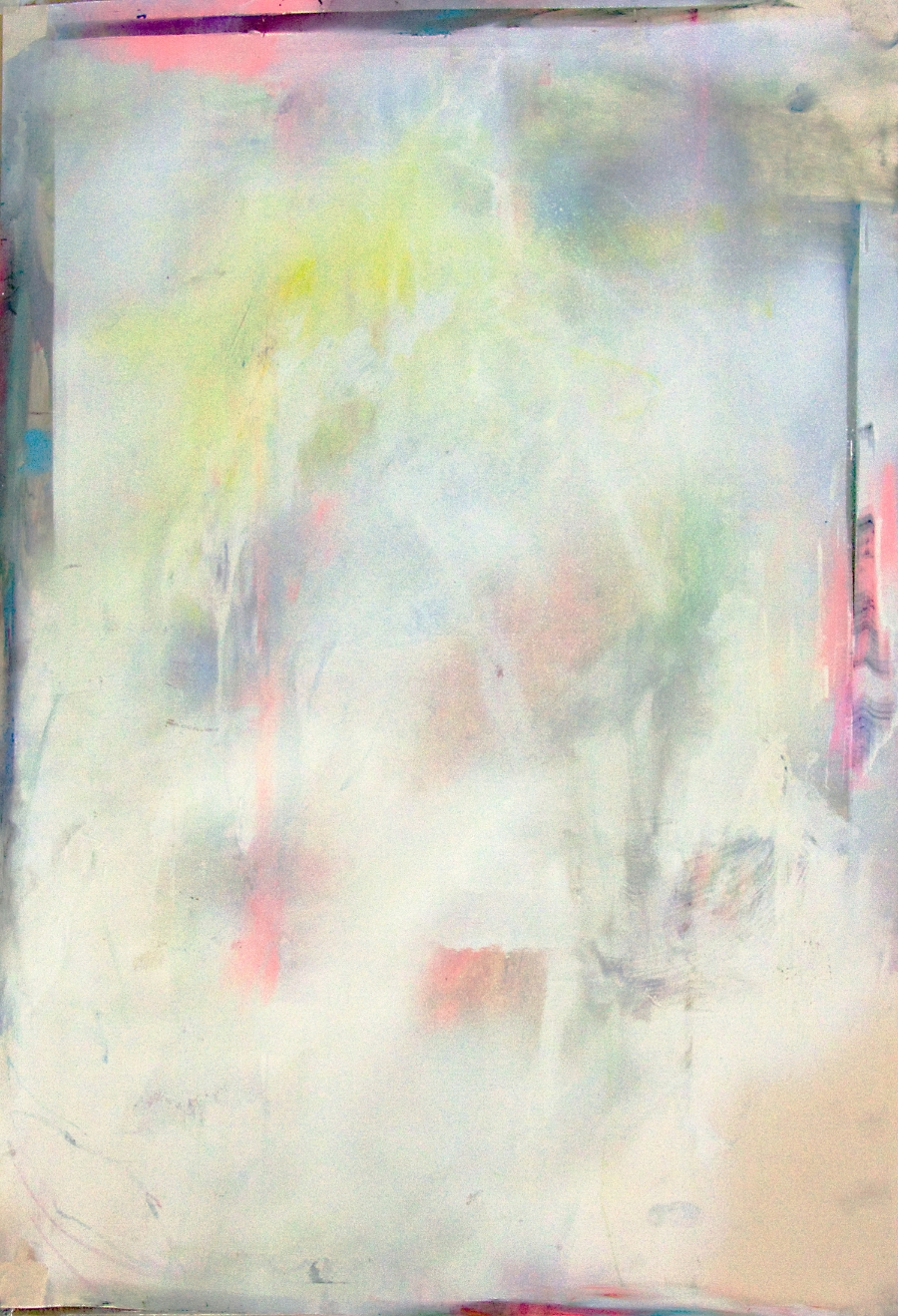 Bruno Albizzati Untitled (combustible), 2013 Pastels and acrylic on paper 94 x 64 cm