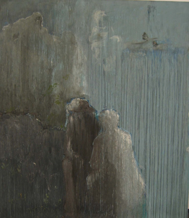 Untitled, 2007 Egg tempera on canvas 240 x 210 cm
